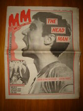 MELODY MAKER 1981 AUG 1 TALKING HEADS DELTA 5 OK JIVE