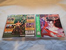 Tekken 3 Greatest Hits (Sony PlayStation 1 1998) Complete, Tested, Fast shipping