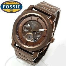 FOSSIL MEN'S LUXURY DRESS STYLE COLLECTION BROWN WATCH FS4661