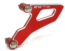 ZETA Drive Cover Guard RED HONDA CRF CRF150 07-16 CRF250 04-09