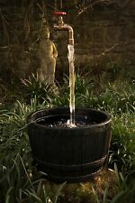 The Impossible Floating Tap Gate Valve Water Feature *GOLD* (Including Pump)