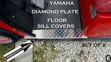 yamaha g14 to g22 Golf Cart Diamond Plate Rocker/ Floor SILL PLATES