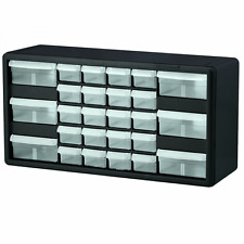 Akro-Mils 10126 26 Drawer Plastic Parts Storage Hardware and Craft Cabinet, 20-I