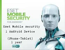 Eset Mobile security 1 Android Device(Phone-Tablet) 1 year