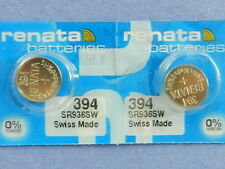 Renata  394 SR936SW    Batteries  Button Cell ,2Pcs