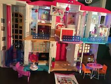Barbie Doll House Hello Dreamhouse Smart Voice Activated Sounds