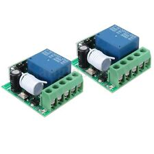 2X 315MHz 1Channel  Wireless Relay RF Remote Control Switch Receiver DC 12V 10A