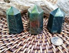 Bloodstone Crystal Tower ~ perfect for Healing and crystal grid  ~ SG4