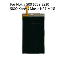 For Nokia 500 5228 5230 5800 Xpress Music N97 MINI LCD Display Screen New Repair
