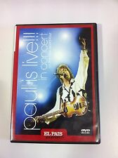 PAUL McCARTNEY - PAUL IS LIVE!!! IN CONCERT ON THE NEW WORLD TOUR (DVD)