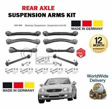 FOR MERCEDES SLK200 SLK230 SLK 320 1996-2004 NEW REAR SUSPENSION ARMS + LINK SET