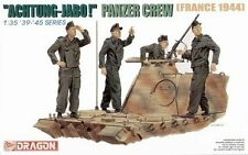 "Dragon 1/35 #6191 ""Achtung-Jabo!"" Panzer Crew ""France 1944"""