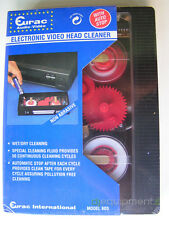Cassette Electronics Vcr Head Cleaner VHS Automatic Battery