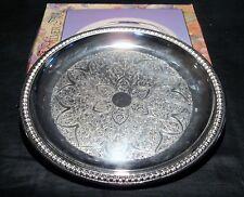 """Davco 12"""" Silver Tray"""