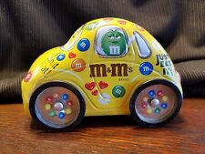 M&M's VW VOLKSWAGEN BEETLE Car Tin Box Container Canister COLLECTIBLE