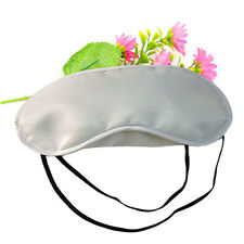 20Pcs/lot New Light gray Soft Sleep Eye mask Sleep Masks For Travel Sleeping Aid