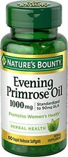 2 Pack - Nature's Bounty Evening Primrose Oil 1000 MG Softgels 60 Each