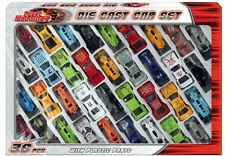 36 Die Cast Car Set In Window Box Street Machines Toys Play Kids Children Party