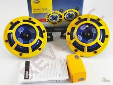 Yellow Hella Supertone Horn Kit 12V 415/350Hz H31000001 - 1 Pair