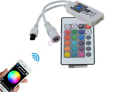 Mini WiFi Controller MIC Music Control for RGB/RGBW 5050 LED Strip light DC9-12V
