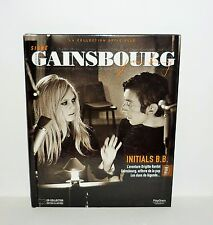 LIVRE  SIGNE GAINSBOURG AVEC CD COLLECTOR ILLUSTREE LA JAVANAISE