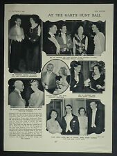 Garth Hunt Club Ball Tylney Hall Rotherwick Sasha 1934 Page Photo Article 6984