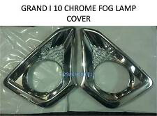 Car Fog Lamp Chrome Cover Set Of 2 Pieces :- HYUNDAI GRAND I-10 I 10