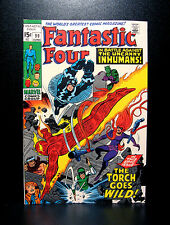 COMICS: Marvel: Fantastic Four #99 (1970), 1st Yeti app/Inhumans - RARE