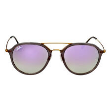 Ray-Ban Highstreet Pilot Lilac Gradient Flash Sunglasses