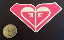 Roxy by Ouiksilver Pink Sticker Surf Skate Snow Best sticker value on ebay