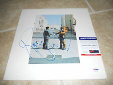 Roger Waters Pink Floyd Wish You Here Sign Autograph Album Record PSA Certified