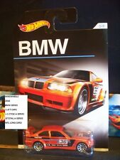 HOT WHEELS 2016 #3 -1 BMW E36 M3 RACE ORNG THAIL