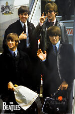 THE BEATLES - PLANE - GROUP POSTER (91x61cm)  NEW LICENSED ART