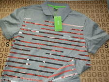NEW HUGO BOSS MENS LONG SLEEVE GREY GOLF PRO POLO JEANS SUIT T-SHIRT LARGE