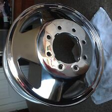 "Ford Super Duty F350 Alcoa OEM 16"" x 6 Early 4 notch  DUALLY 8 Lug Rims 99 04"