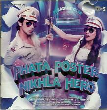 PHATA POSTER NIKHLA HERO - NEW BOLLYWOOD SOUNDTRACK MUSIC CD - FREE UK  POST
