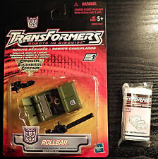 2001 Hasbro Transformers Robots in Disguise RID Rollbar Combaticon Swindle NY