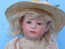"""12"""" Antique Gebruder Heubach 6969 glass eyed  Character Pouty"""
