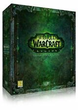 WORLD OF WARCRAFT LEGION COLLECTOR'S EDITION PC DVD NEW PAL ENGLISH COLLECTORS