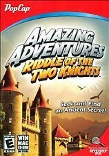Amazing Adventures Riddle of the Two Knights PC/MAC Game New in Box by PopCap