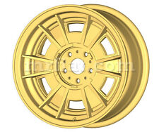 "Ferrari 206 246 GT GTS Gold Cromodora Style 14"" Spinner Wheel Set 4 Pcs"