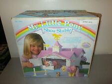 1983 My Little Pony Show Stable With Box Complete with Extras