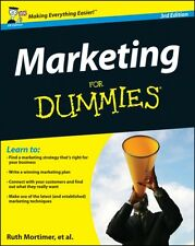 Marketing For Dummies (Paperback), Mortimer, Ruth, Brooks, Gregory, Smith, Crai.