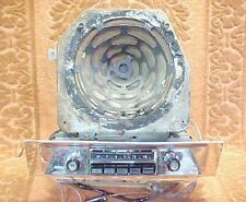 1955 Pontiac AM Radio w/Speaker - Very Nice, Working