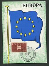 FRANCE MK 1963 EUROPA CEPT STRASBOURG 1964 MAXIMUMKARTE MAXIMUM CARD MC CM d5282