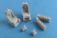 Pavla S72089 1/72 Resin WAC T-37 ejection seats For Cessna A-37A Dragonfly