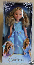 Princess & Me Disney Cinderella Live Action 18 Inch Doll In Stock Fast Shipping!