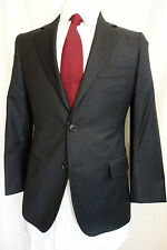 NWOT Brooks Brothers 1818 Fitzgerald Solid Dark Gray Wool Suit 36S  Retail $998