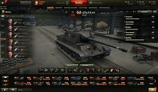 Wot World of tanques account (7x premium tanques: caza tiger 8.8cm, e25) + grille e15
