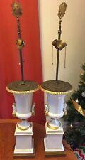 PAIR OF PORCELAINE DE PARIS French Table Lamp limoges france